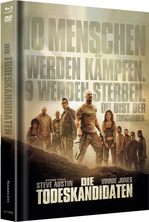 Die Todeskandidaten - Limited Mediabook Edition - Cover A [Blu-ray+DVD]