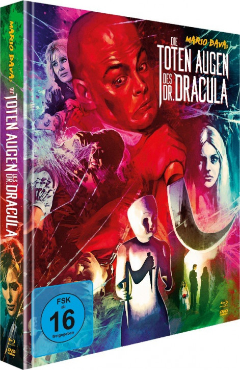 Die toten Augen des Dr. Dracula - Limited Mediabook Edition [Blu-ray+DVD]