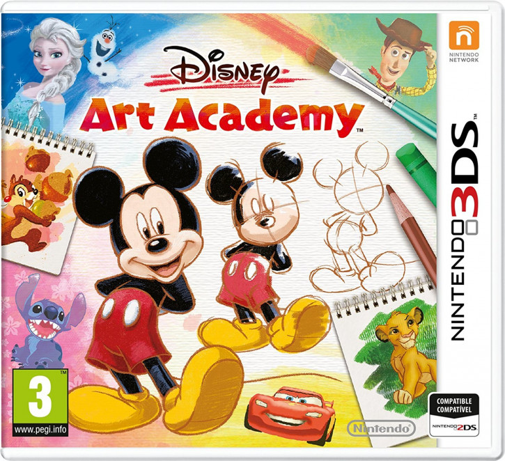 Disney Art Academy [N3DS]