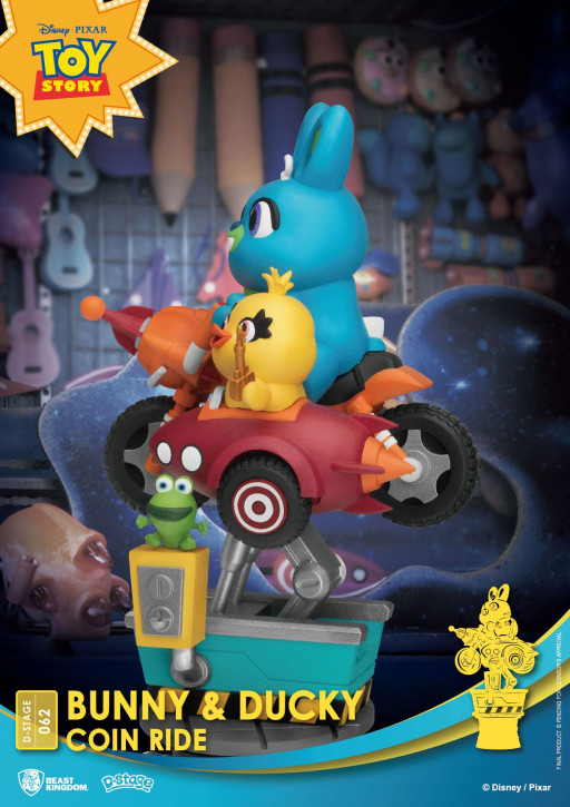 Disney: Diorama Stage 62 - Coin Ride Bunny & Ducky