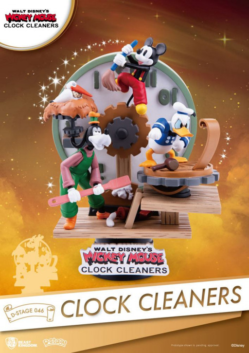 Disney: Diorama Stage 46 - Mickey Mouse Clock Cleaners