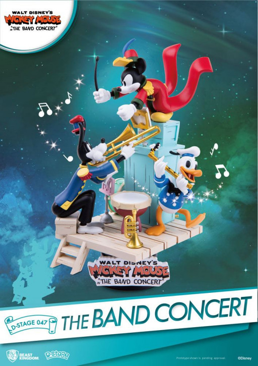 Disney: Diorama Stage 47 - Mickey Mouse The Band Concert