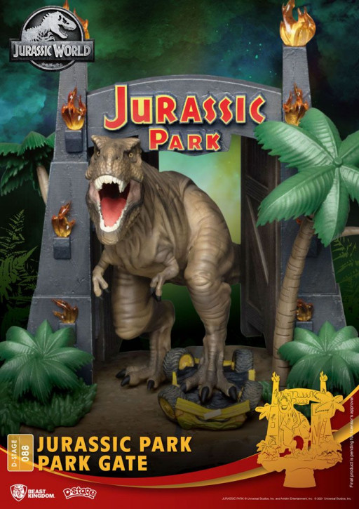 Jurassic Park: Diorama Stage 88 - Jurassic Park