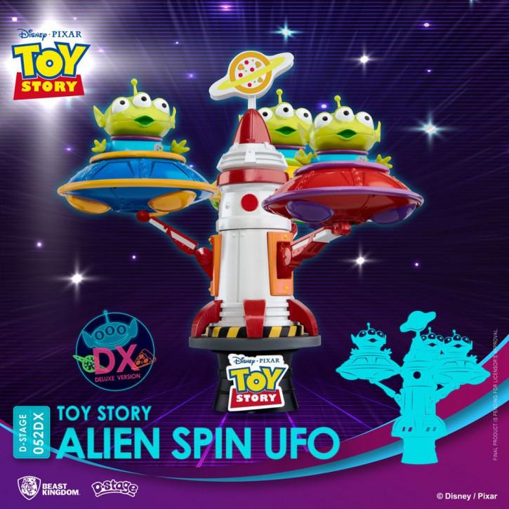 Disney: Diorama Stage 58DX - Toy Story Alien Spin Ufo
