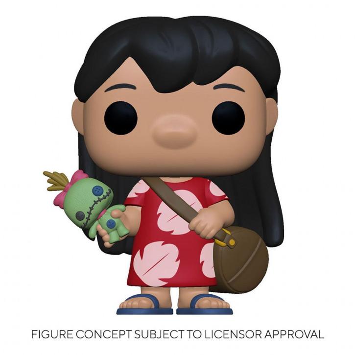 Disney Lilo & Stitch POP! - Vinyl Figur 1043 - Lilo w/Scrump