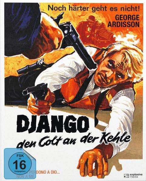 Django - Den Colt an der Kehle - Mediabook - Cover A [Blu-ray+DVD]