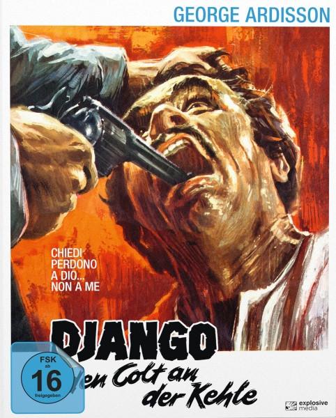Django - Den Colt an der Kehle - Mediabook - Cover B [Blu-ray+DVD]