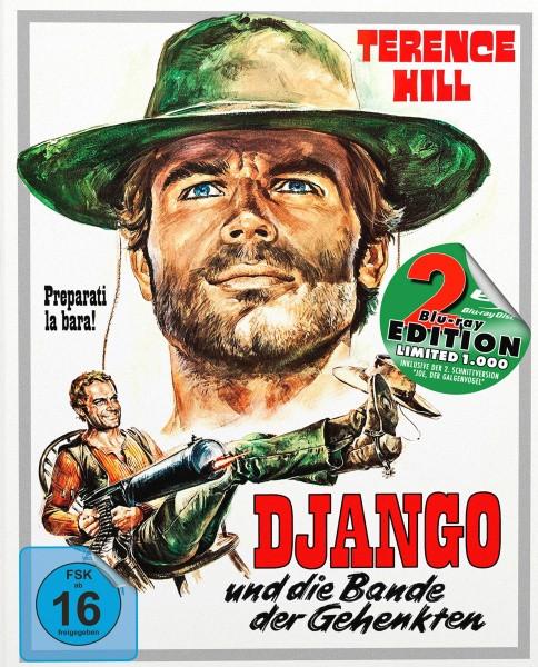 Django und die Bande der Gehenkten - Mediabook - Cover A [Blu-ray+DVD]