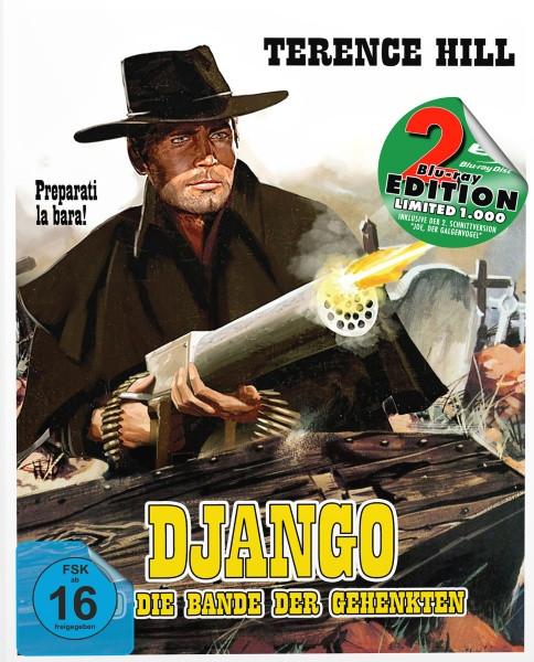 Django und die Bande der Gehenkten - Mediabook - Cover B [Blu-ray+DVD]