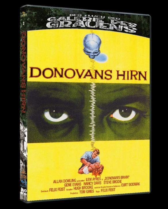 Donovans Hirn - Der Fluch der Galerie des Grauens #2 [Blu-ray+DVD]