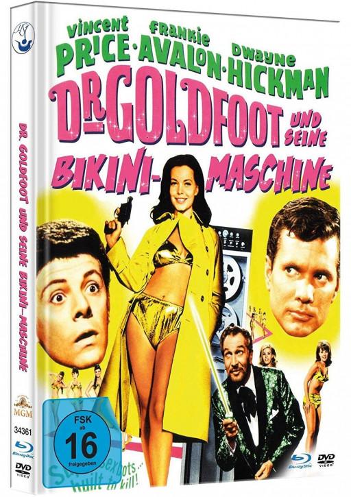 Dr. Goldfoot und seine Bikini-Maschine - Limited Mediabook Edition [Blu-ray+DVD]