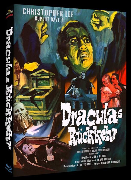 Draculas Rückkehr - Hammer Edition - Cover A [Blu-ray]