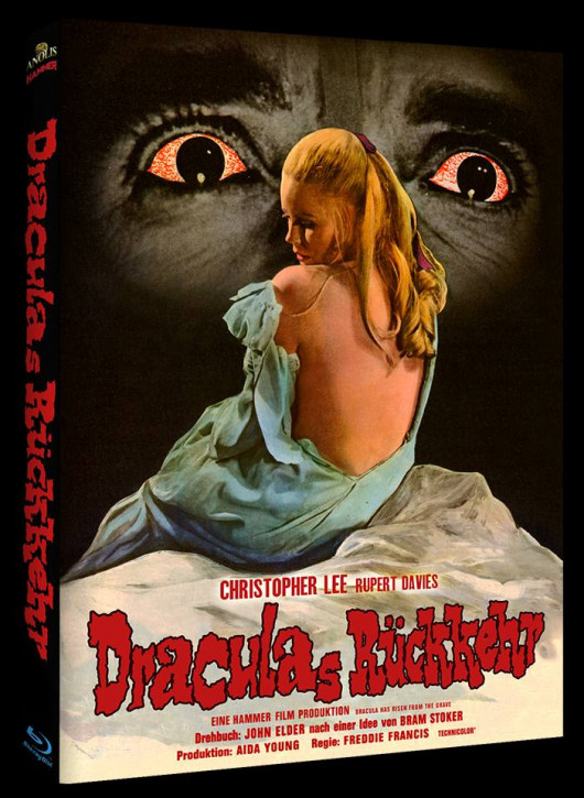 Draculas Rückkehr - Hammer Edition - Cover C [Blu-ray]
