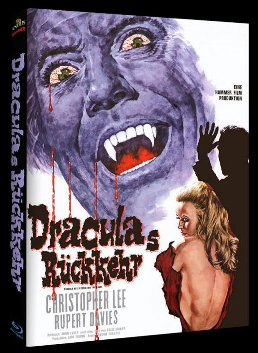 Draculas Rückkehr - Hammer Edition - Cover B [Blu-ray]