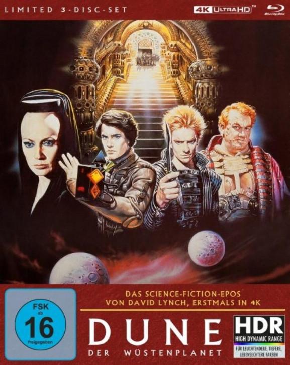 Dune - Der Wüstenplanet - Mediabook [4K UHD+Blu-ray]