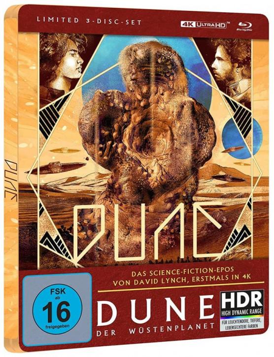 Dune - Der Wüstenplanet - Steelbook [4K UHD+Blu-ray]