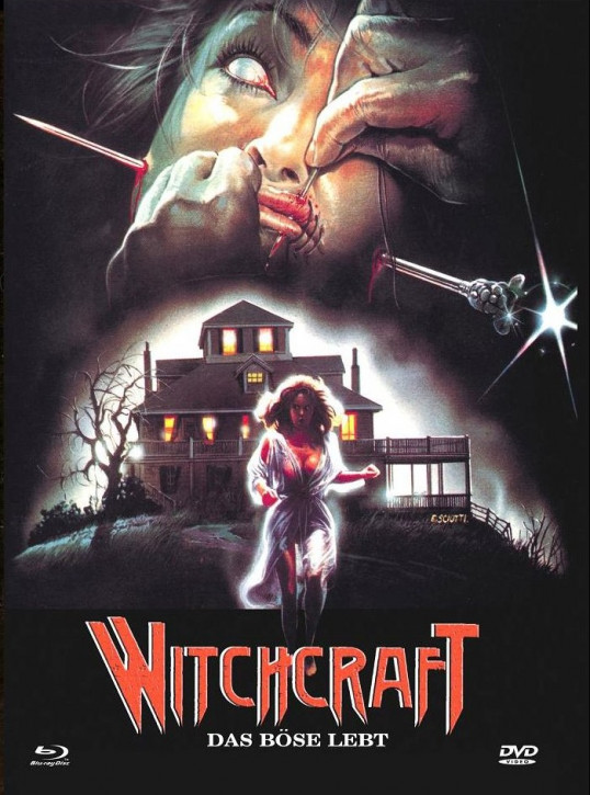 Witchcraft- Das Böse Lebt - Euro Cult Collection #58 - Mediabook - Cover A [Blu-ray+DVD]