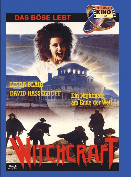 Witchcraft- Das Böse Lebt - Euro Cult Collection #58 - Mediabook - Cover B [Blu-ray+DVD]