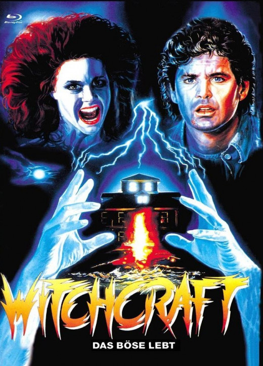Witchcraft- Das Böse Lebt - Euro Cult Collection #58 - Mediabook - Cover C [Blu-ray+DVD]