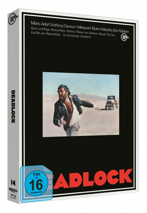 Deadlock - Edition Deutsche Vita # 14 - Cover B [4K UHD+Blu-ray]