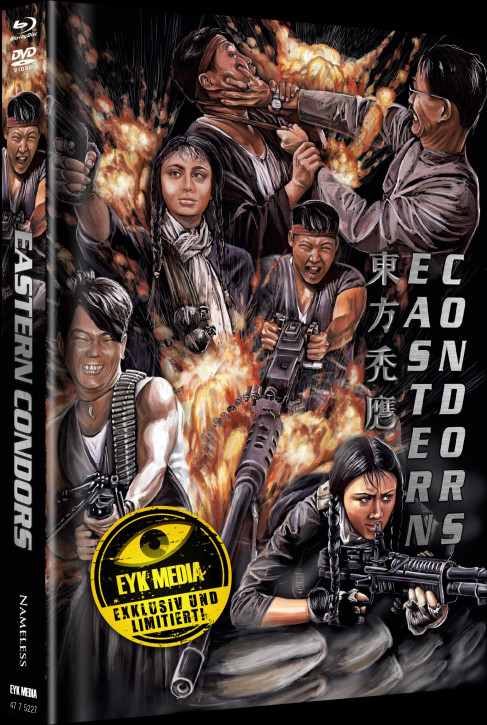 Eastern Condors - Limited Mediabook - Cover A [Blu-ray+DVD]