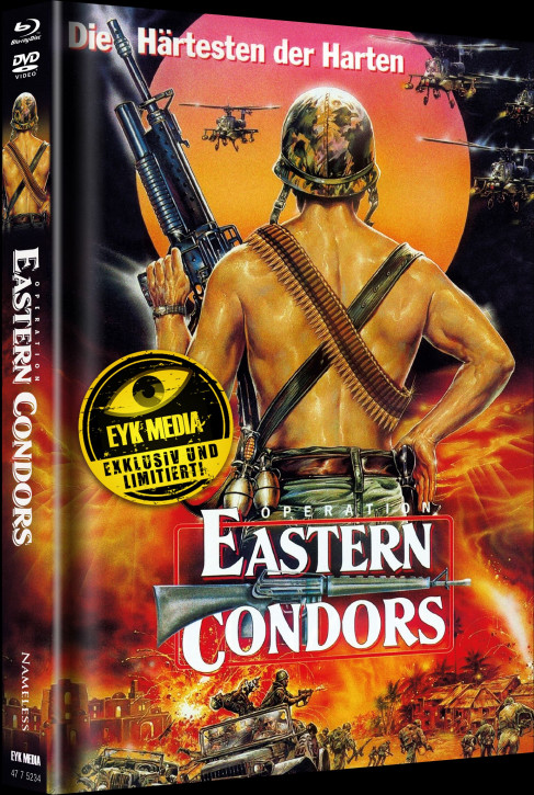 Eastern Condors - Limited Mediabook - Cover B [Blu-ray+DVD]
