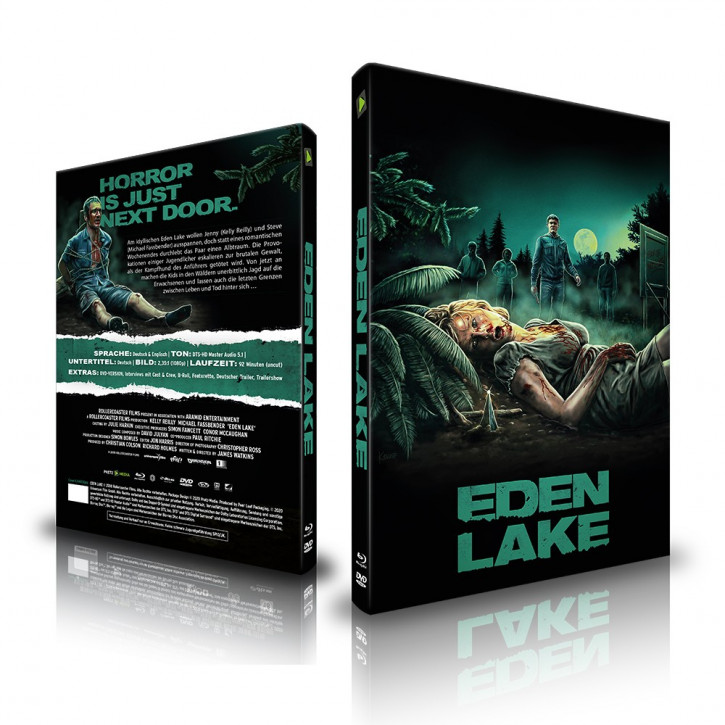 Eden Lake - Limited Mediabook - Cover A [Blu-ray+DVD]