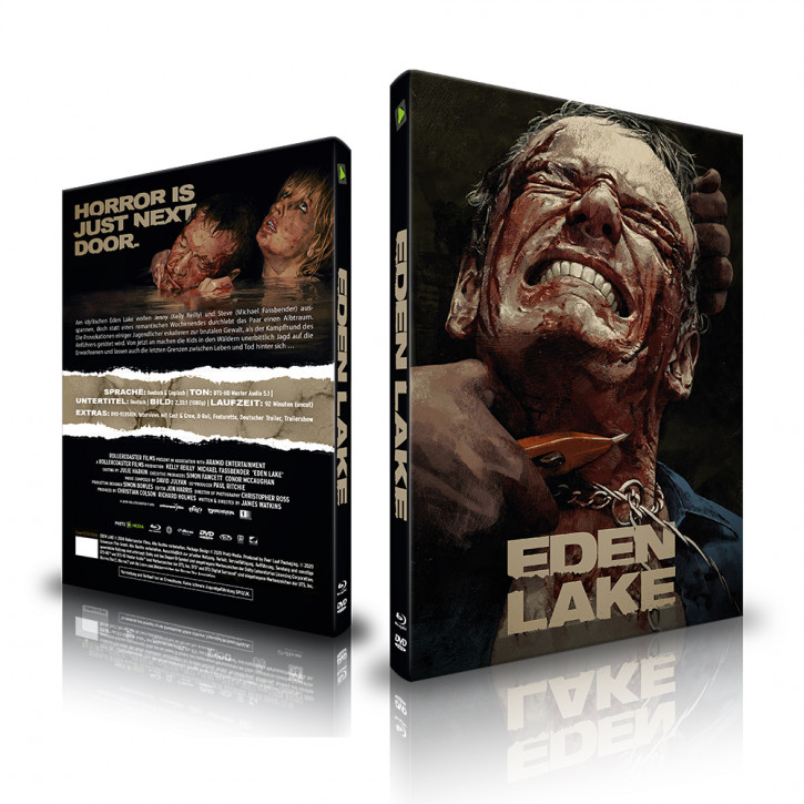 Eden Lake - Limited Mediabook - Cover B [Blu-ray+DVD]