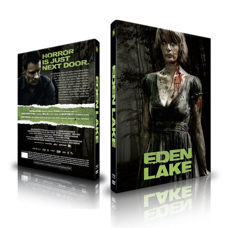 Eden Lake - Limited Mediabook - Cover C [Blu-ray+DVD]