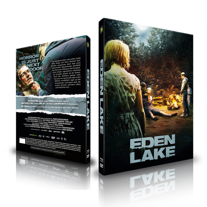 Eden Lake - Limited Mediabook - Cover D [Blu-ray+DVD]