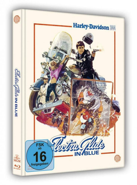 Electra Glide in Blue - Harley Davidson 344 - Limited Mediabook Edition [Blu-ray]