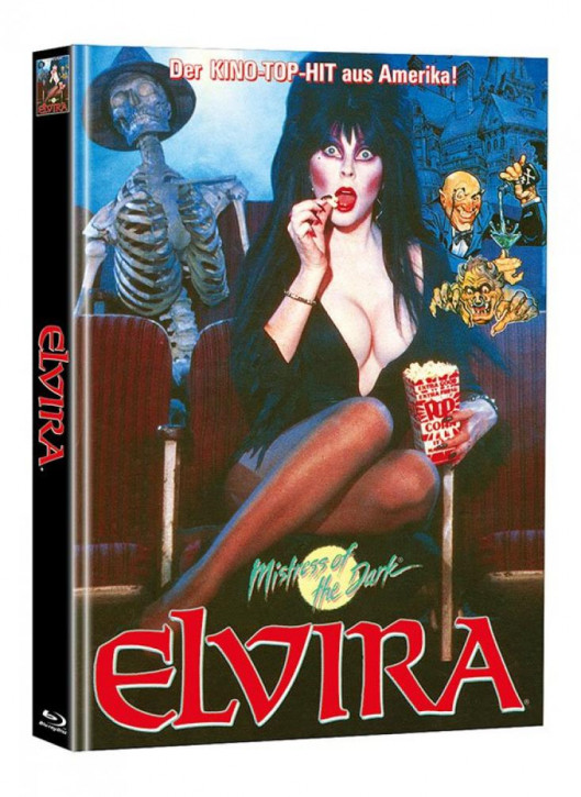 Elvira - Limited Mediabook Edition  (Super Spooky Stories #96) [DVD]