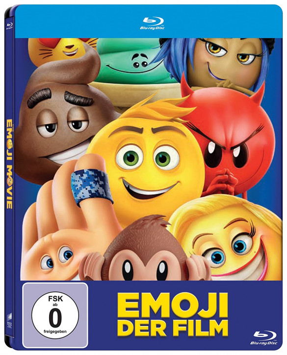 Emoji - Der Film - Steelbook [Blu-ray]