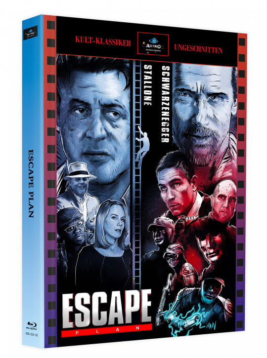 Escape Plan - Mediabook - Cover A [Blu-ray]