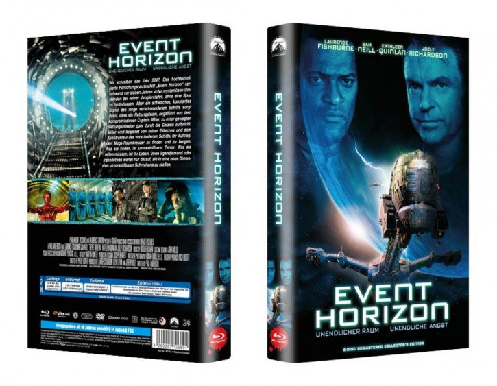 Event Horizon - große Hartbox - Cover A [Blu-ray]