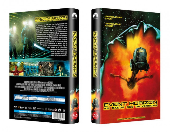 Event Horizon - große Hartbox - Cover B [Blu-ray]