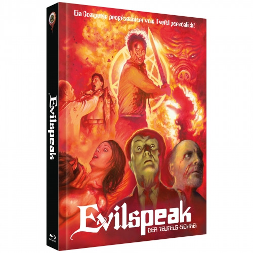 Evilspeak - Limited Collectors Edition Mediabook - Cover B [Blu-ray+DVD]