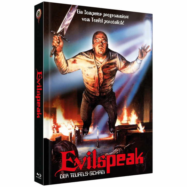 Evilspeak - Limited Collectors Edition Mediabook - Cover C [Blu-ray+DVD]