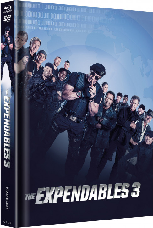 The Expendables 3 - Limited Mediabook Edition - Cover A [Blu-ray+DVD]
