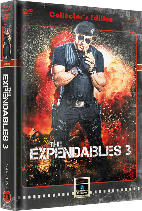 The Expendables 3 - Limited Mediabook Edition - Cover B [Blu-ray+DVD]
