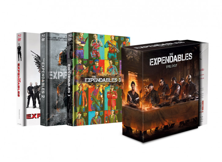 The Expendables 1 - 3 Schuber-Edition [Blu-ray+DVD]