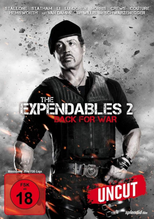 The Expendables 2 - Back For War [DVD]