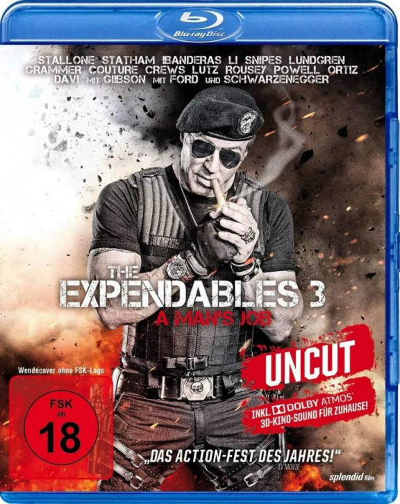 The Expendables 3 - A Mans Job [Blu-ray]
