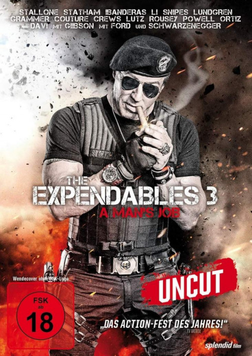 The Expendables 3 - A Mans Job [DVD]