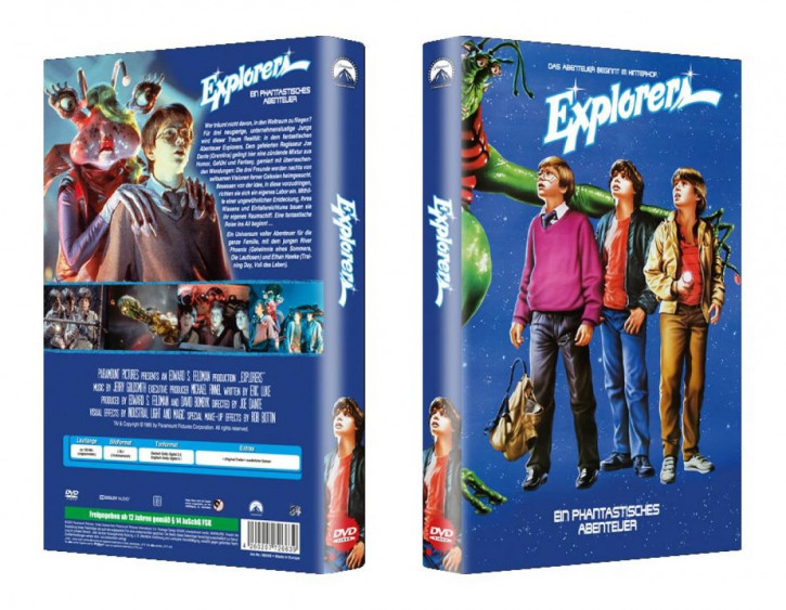 Explorers - große Hartbox - Cover B [DVD]