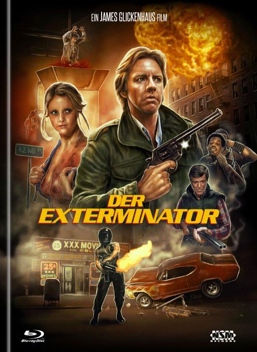Der Exterminator - Mediabook - Cover B [Blu-Ray+DVD]
