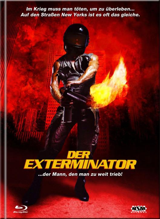 Der Exterminator - Mediabook - Cover D [Blu-Ray+DVD]