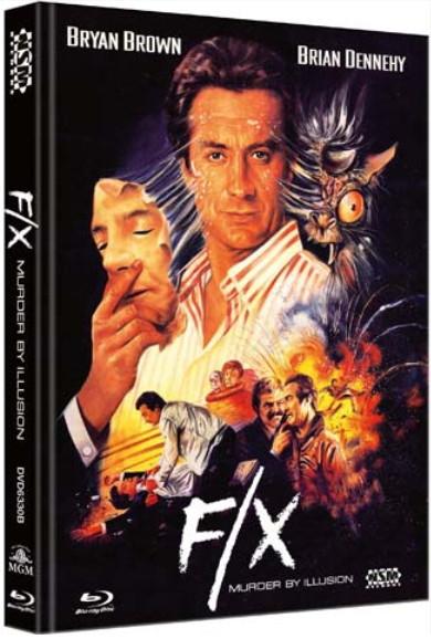 F/X - Tödliche Tricks - Limited Collector's Edition - Cover B [Bluray+DVD]