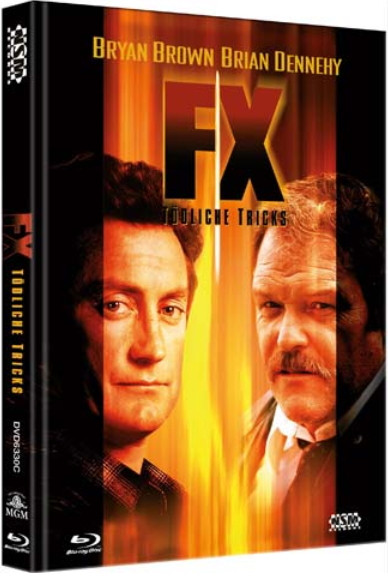 F/X - Tödliche Tricks - Limited Collector's Edition - Cover C [Bluray+DVD]