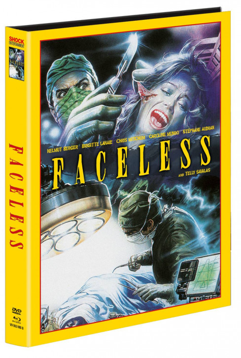 Faceless - Limited Mediabook - Cover B [Blu-ray+DVD]